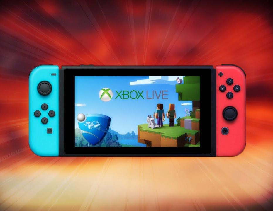 Xbox Live zal beschikbaar worden op de Nintendo Switch