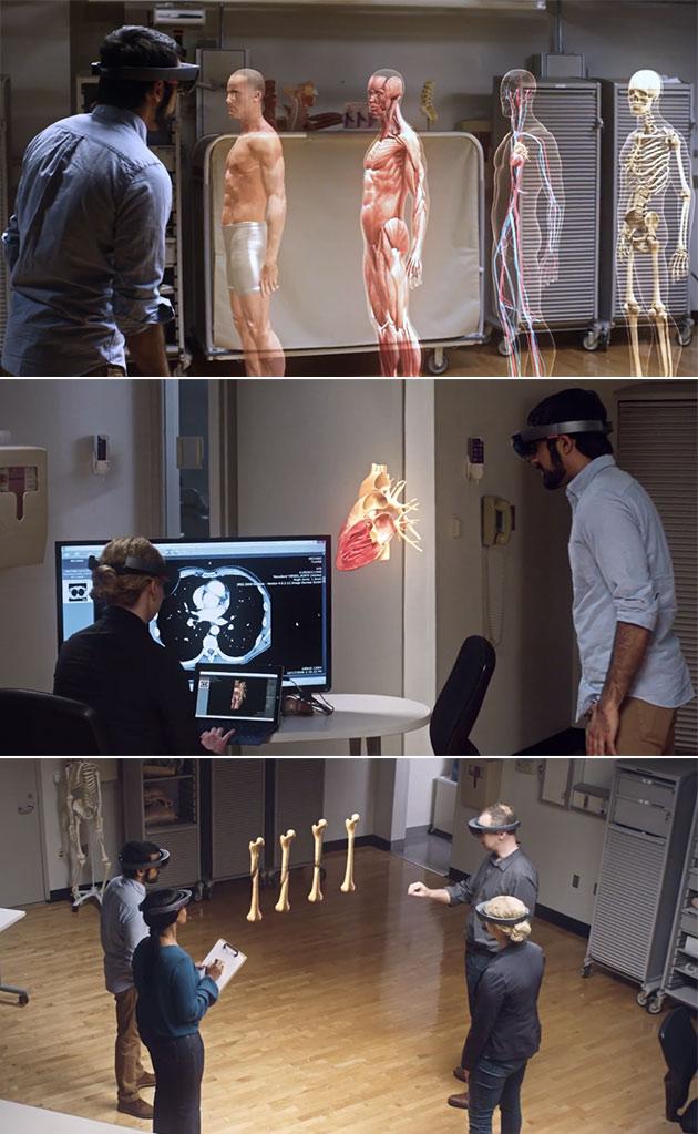 Microsoft HoloLens Real World