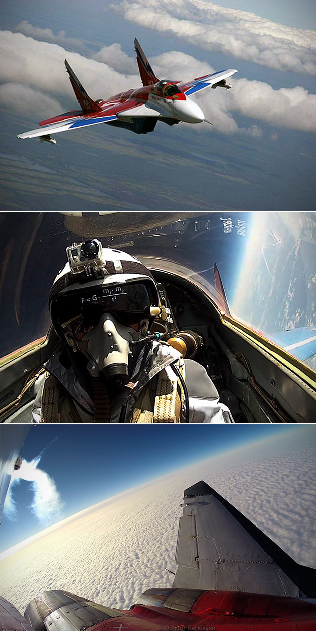 MiG-29 Fulcrum Edge of Space