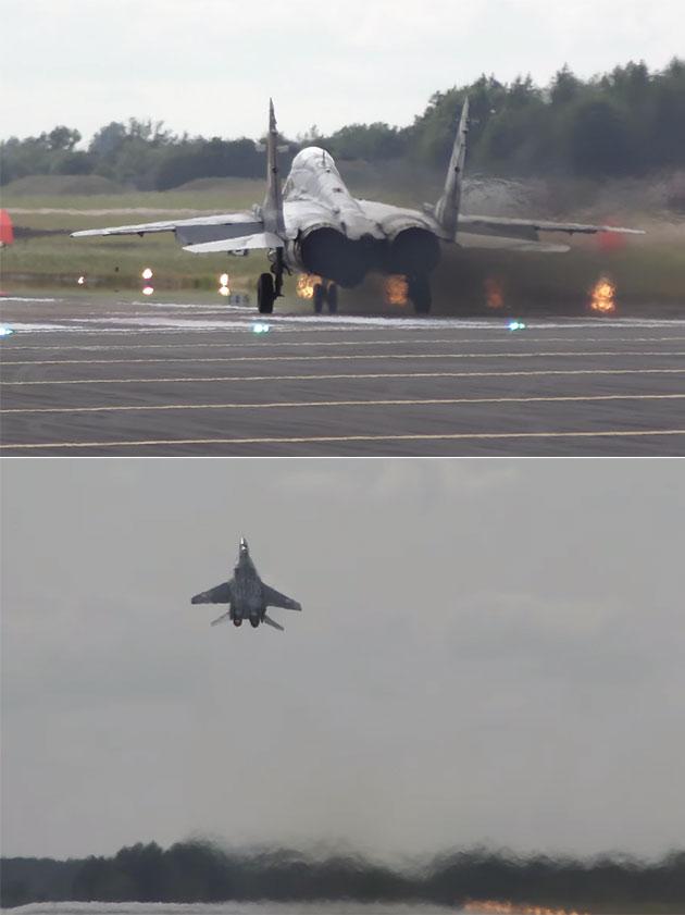 MiG-29 Fulcrum Vertical Takeoff