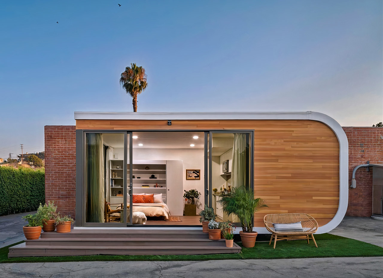 Mighty Buildings 3D-Printed Homes Community California
