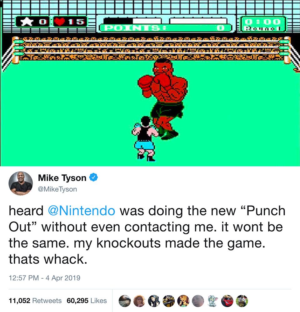 Mike Tyson New Punch-Out!!