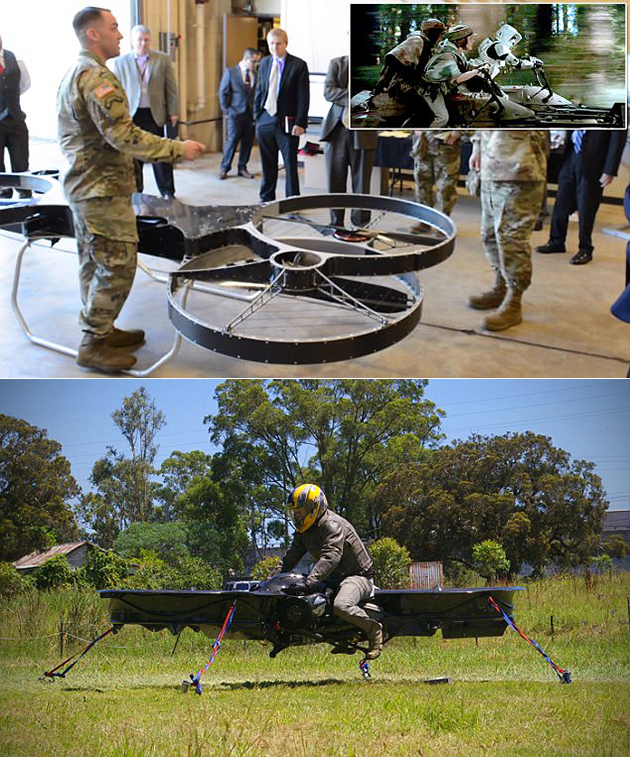 Military Hoverbike