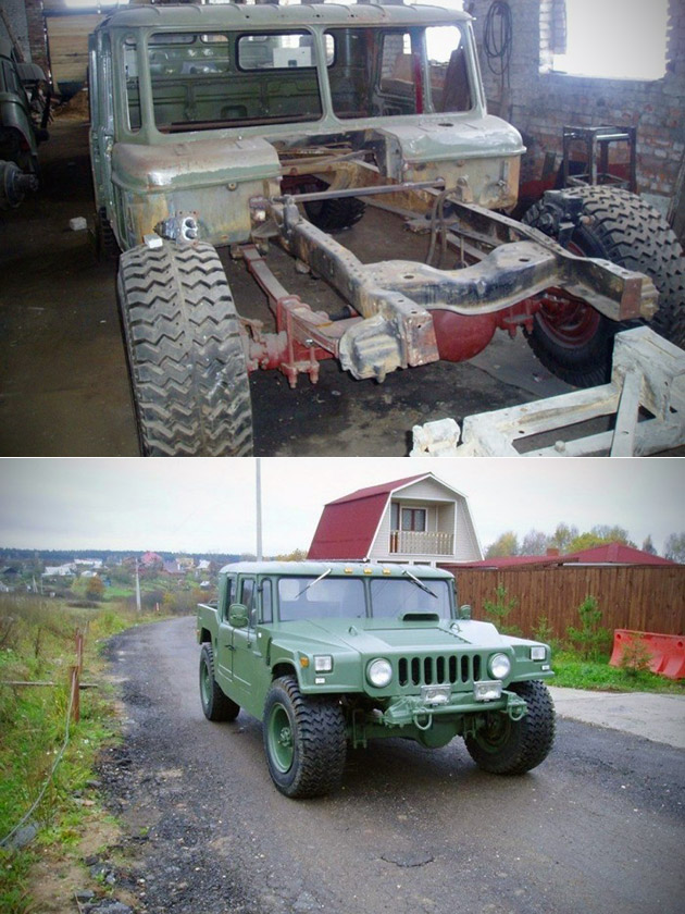 Military Truck Humvee
