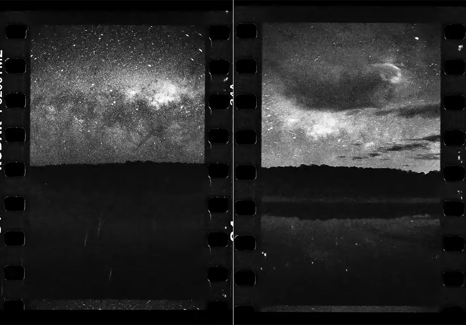 Milky Way Time-Lapse 35mm Film