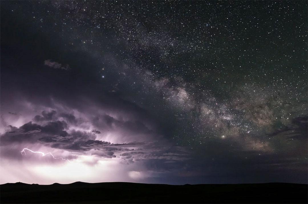 Milky Way Thunderstorm