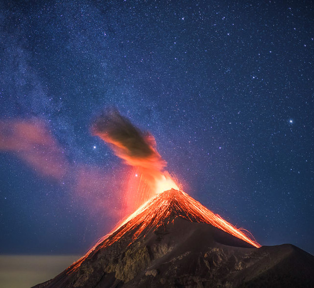 Milky Way Volcano