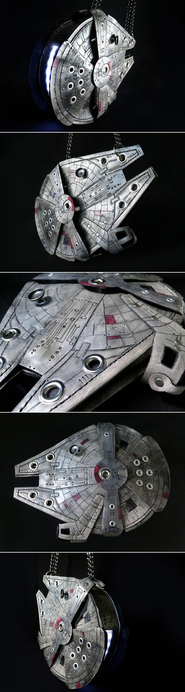 Millennium Falcon Purse