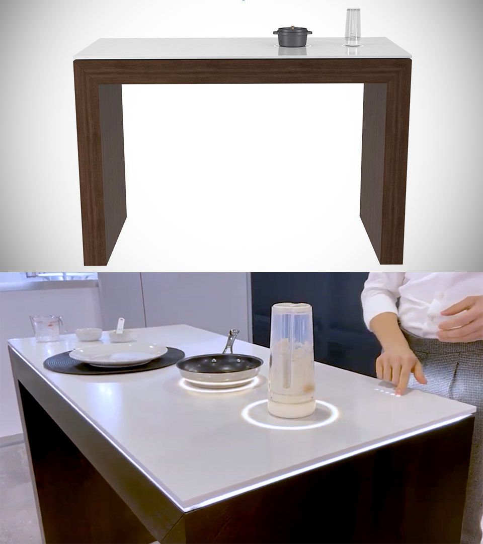 Millo Smart Countertop Kitchen Table