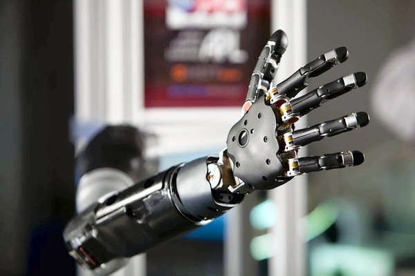 Mind-Controlled Bionic Arm