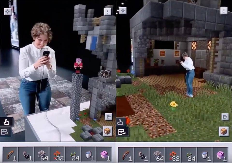 Minecraft Earath AR WWDC
