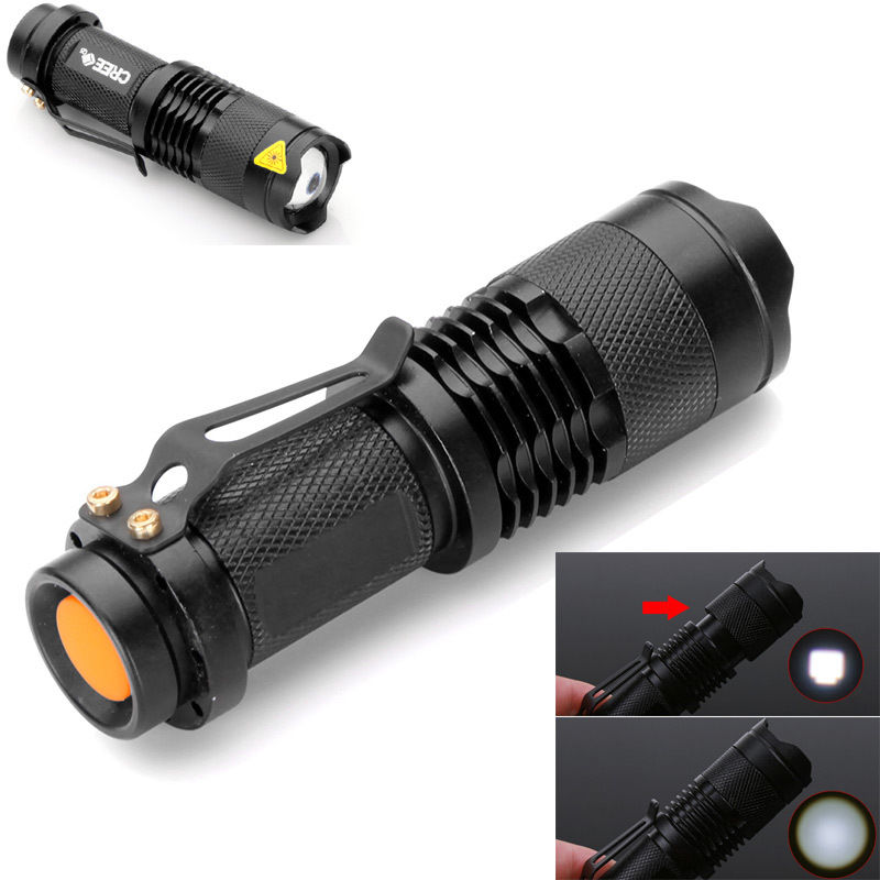 Mini Cree LED Flashlight Torch