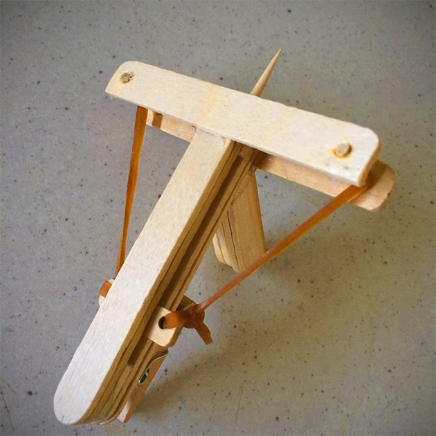 Mini Wooden Crossbow