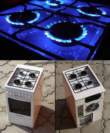 Incredible Mini Oven Pc Case Mod Techeblog