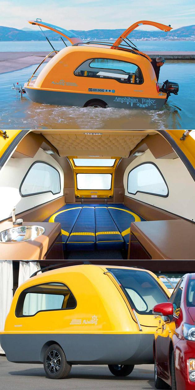 MiniBig Amphibious Trailer