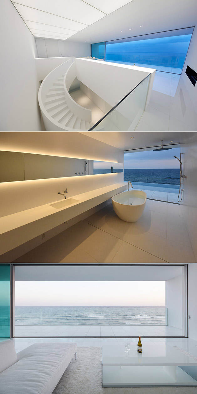 These are Not Scenes from a Sci-Fi Movie, Just a Minimalist Home in Japan