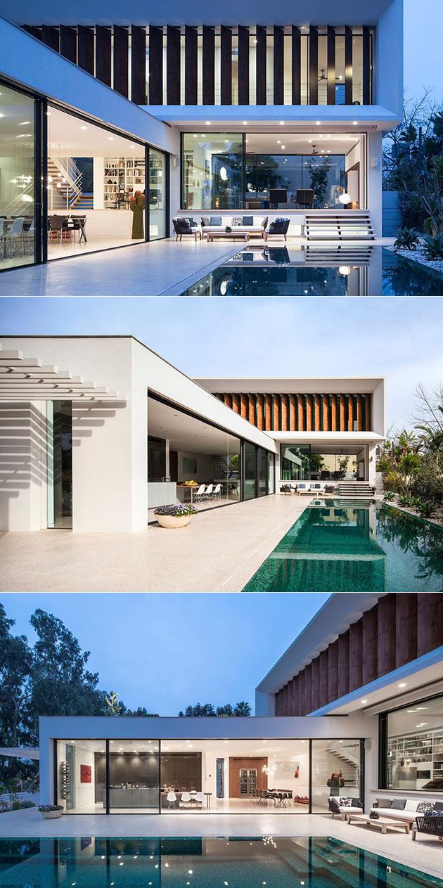 Minimalist Home Pool