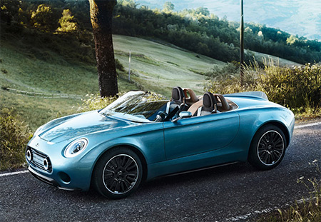 When Modern Technology Meets Classic Car Design, You Get the Mini Superleggera Vision