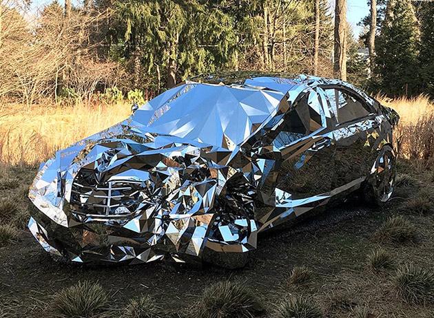 Mirror Mercedes S550