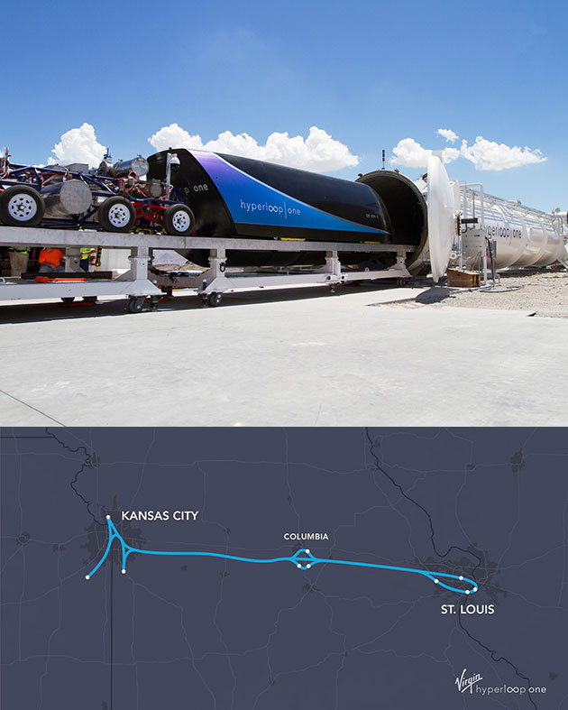 Missouri HyperLoop One