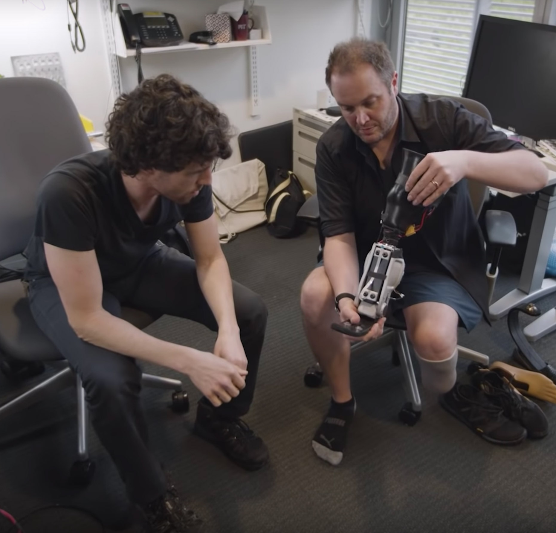 MIT Engineer Bionic Leg