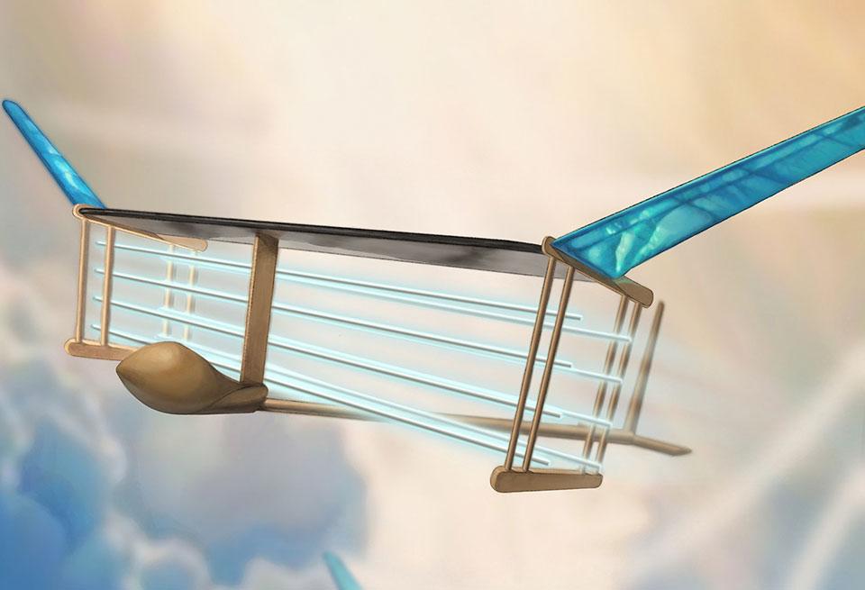 MIT Ion Powered Plane