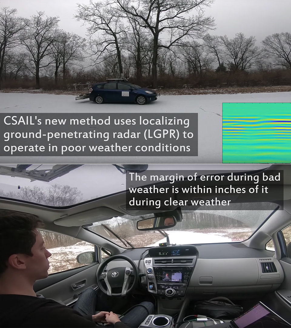 MIT LGPR Radar Self-Driving Car