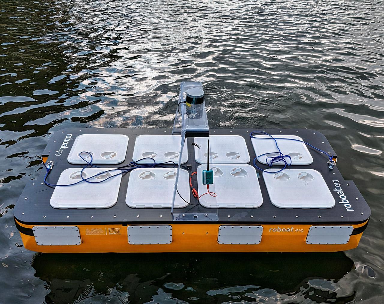 MIT Roboat Autonomous Robotic Boat