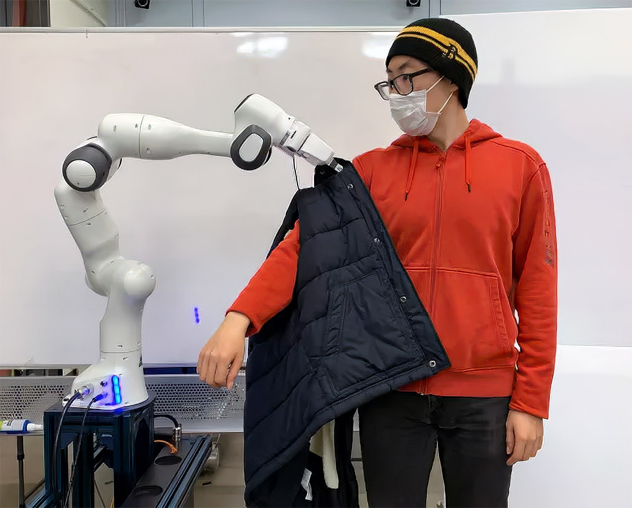 MIT Robot Dressed Limited Mobility