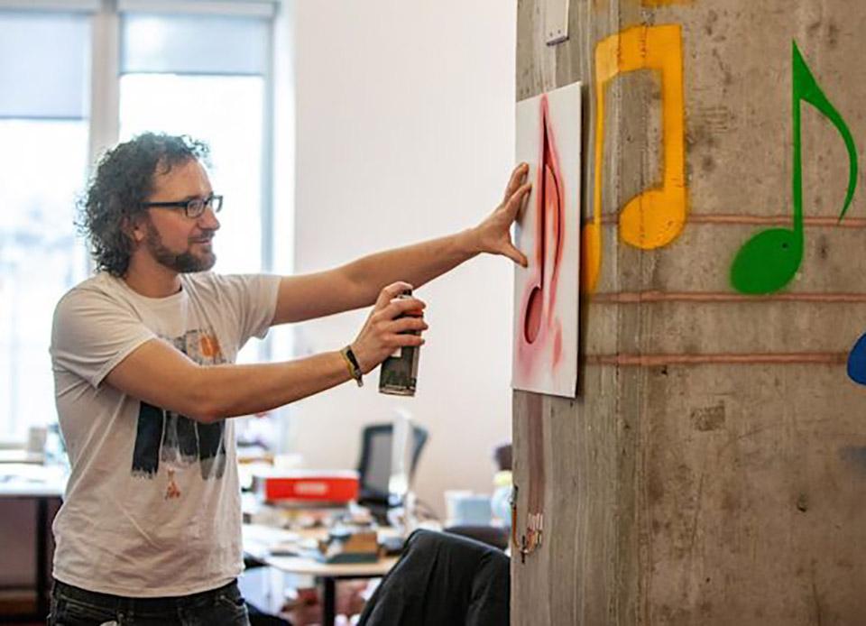 MIT Sprayable Paint User Interface