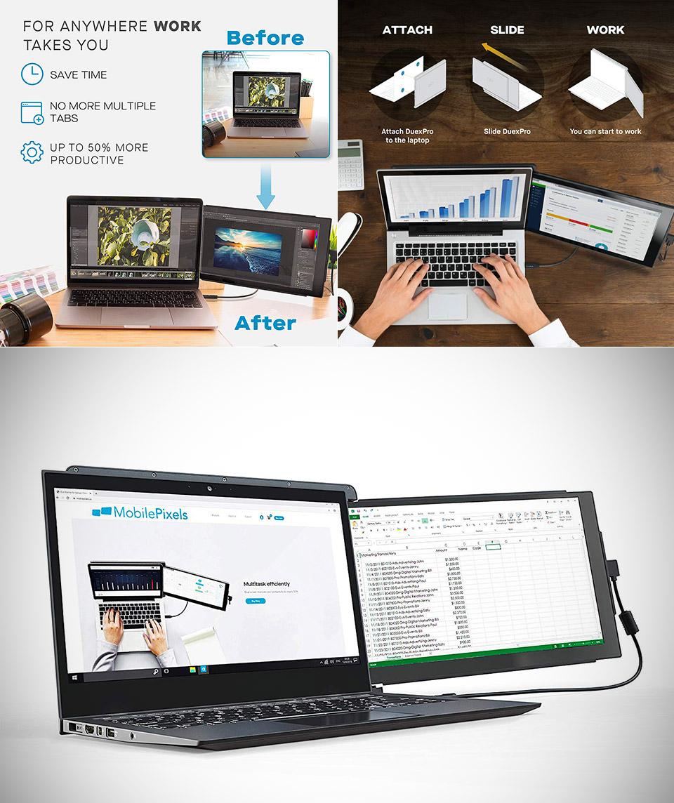 Mobile Pixels Duex Pro Laptop