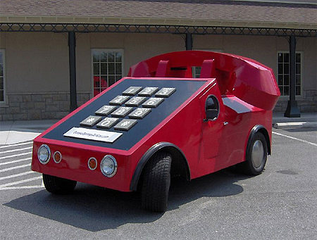 Mobile Phone Car