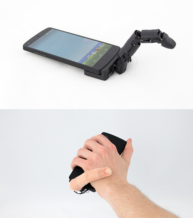MobiLimb Smartphone Finger