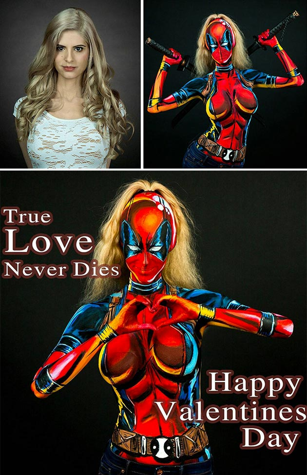 Model Transforms Superheroes