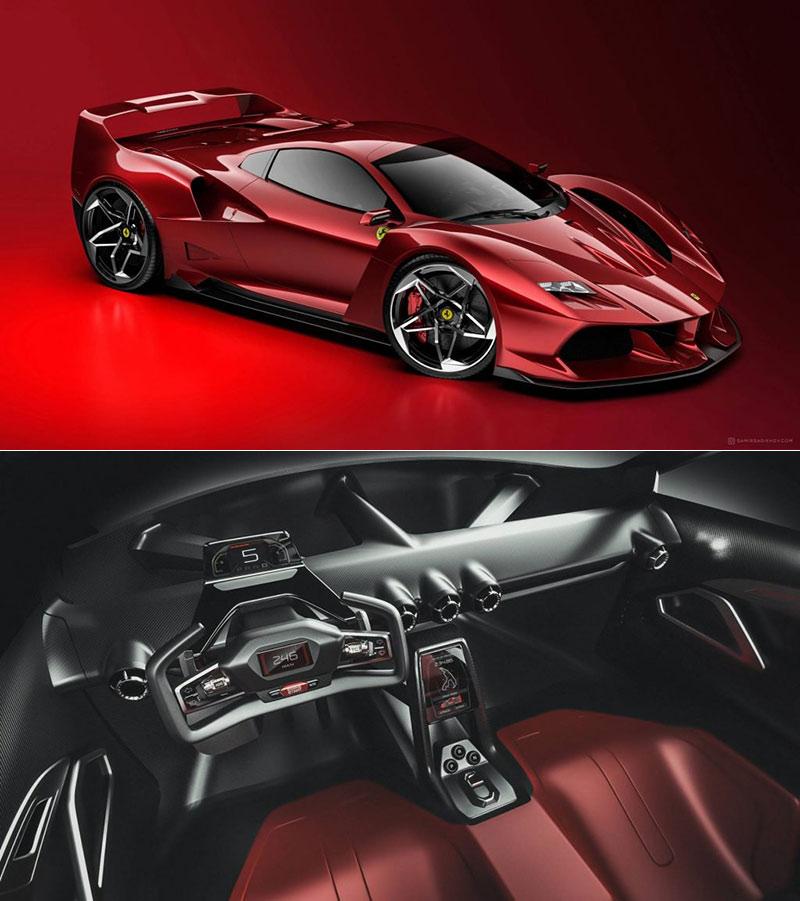 Modern Ferrari F40
