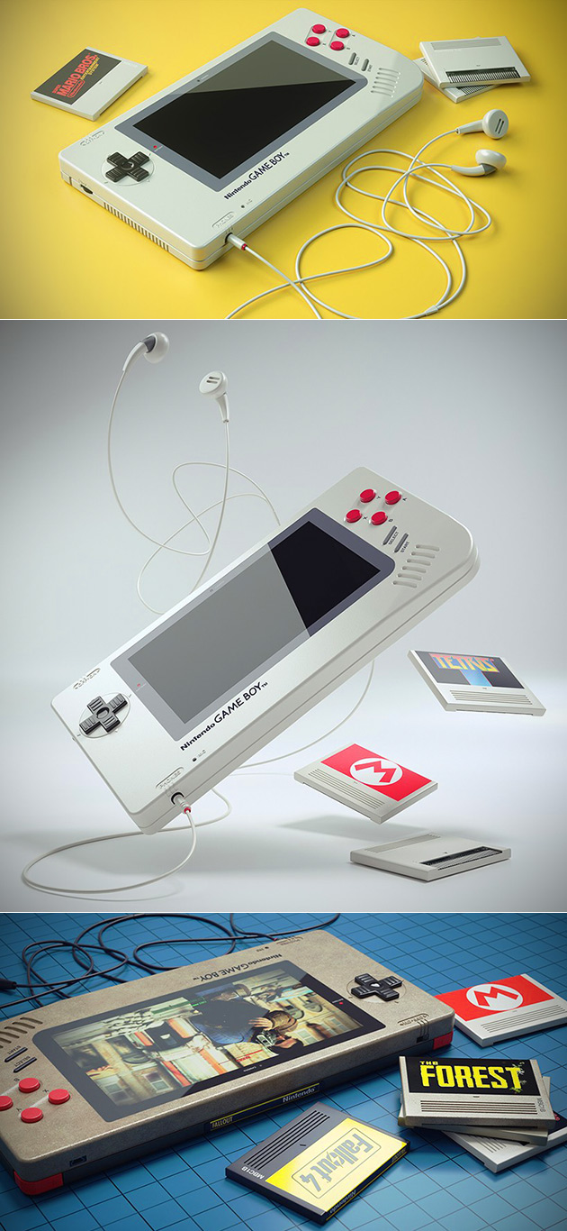 Modern Game Boy