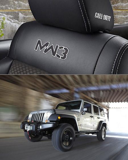 Modern Warfare 3 Jeep Wrangler Unveiled Techeblog
