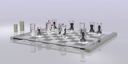 modern chess set - techeblog