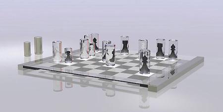 Modern Chess Set