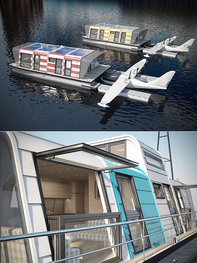 Modul Go Houseboat