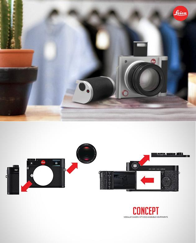Modular Leica Camera