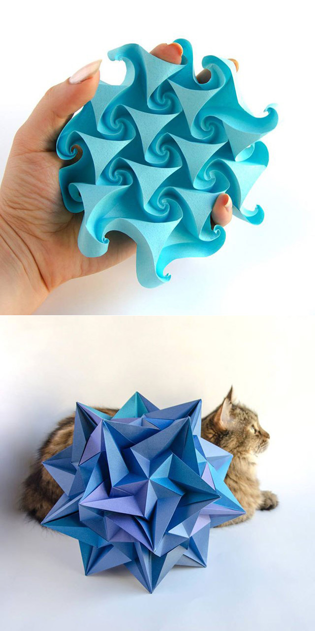 These Geometric Creations Aren't 3D-Printed, Just ... - photo#17