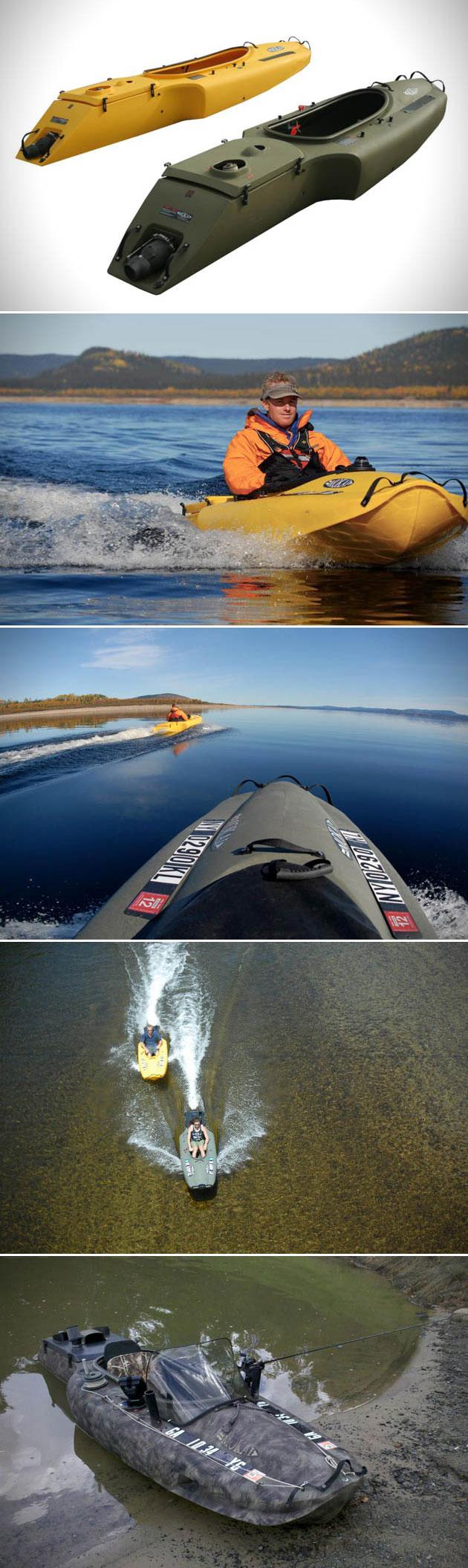 Jet-Propelled Kayak