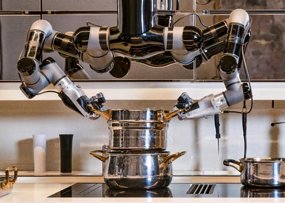 Moley Robotics Robotic Kitchen