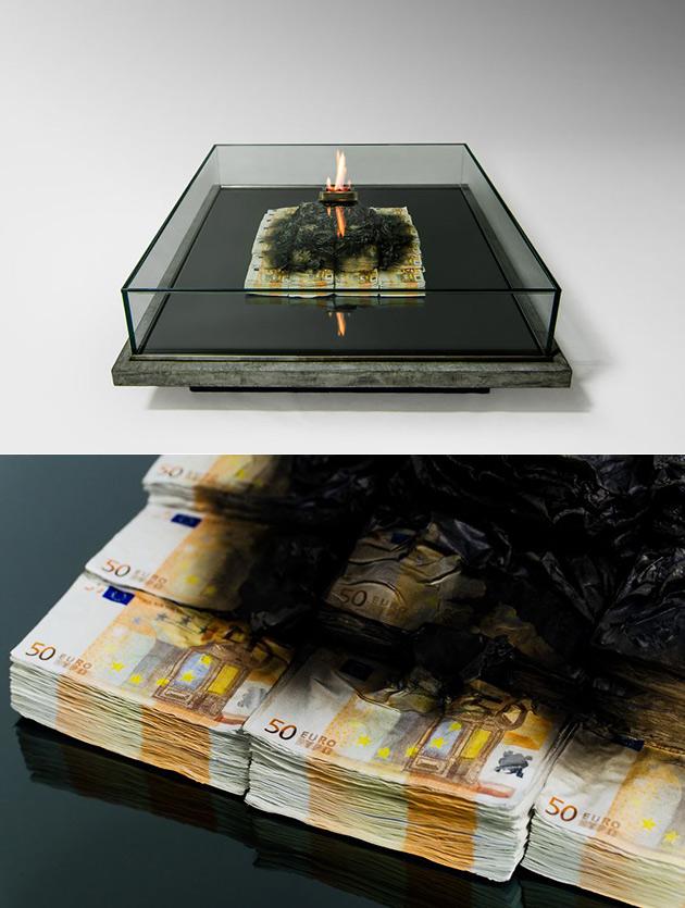 Money Burning Table