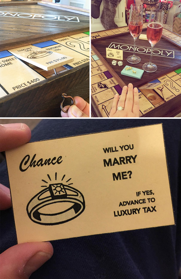 Monopoly Marriage Proposal