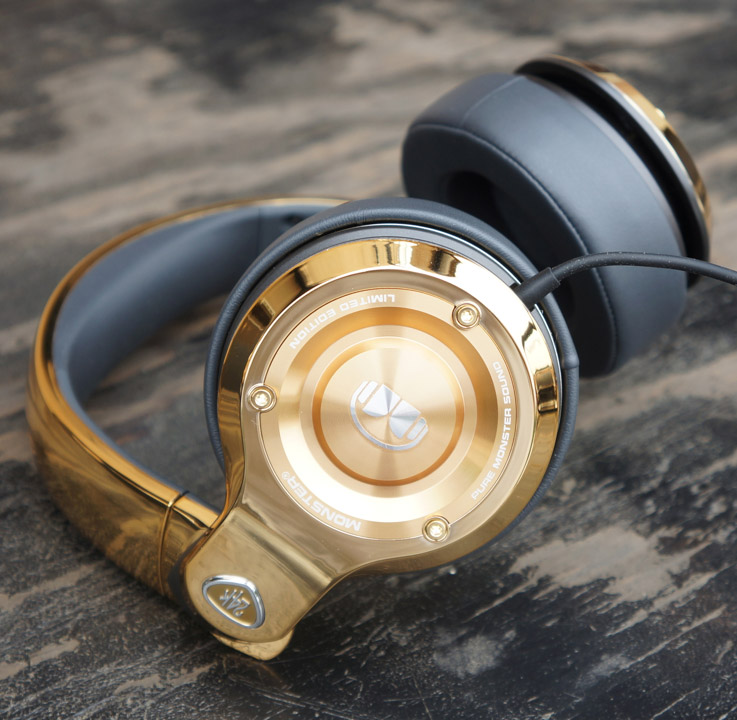 Monster 24K Headphones