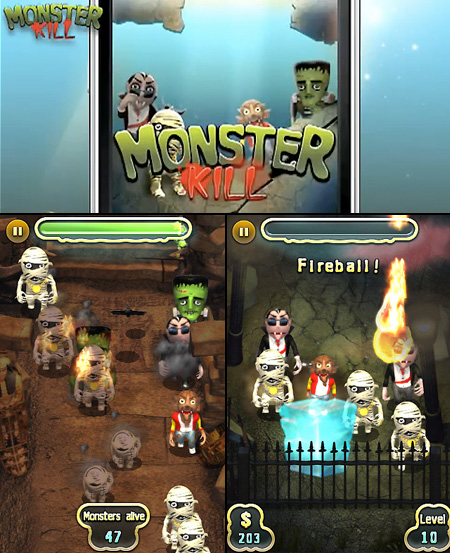 MonsterKill iPhone Game Free Until Tomorrow – TechEBlog