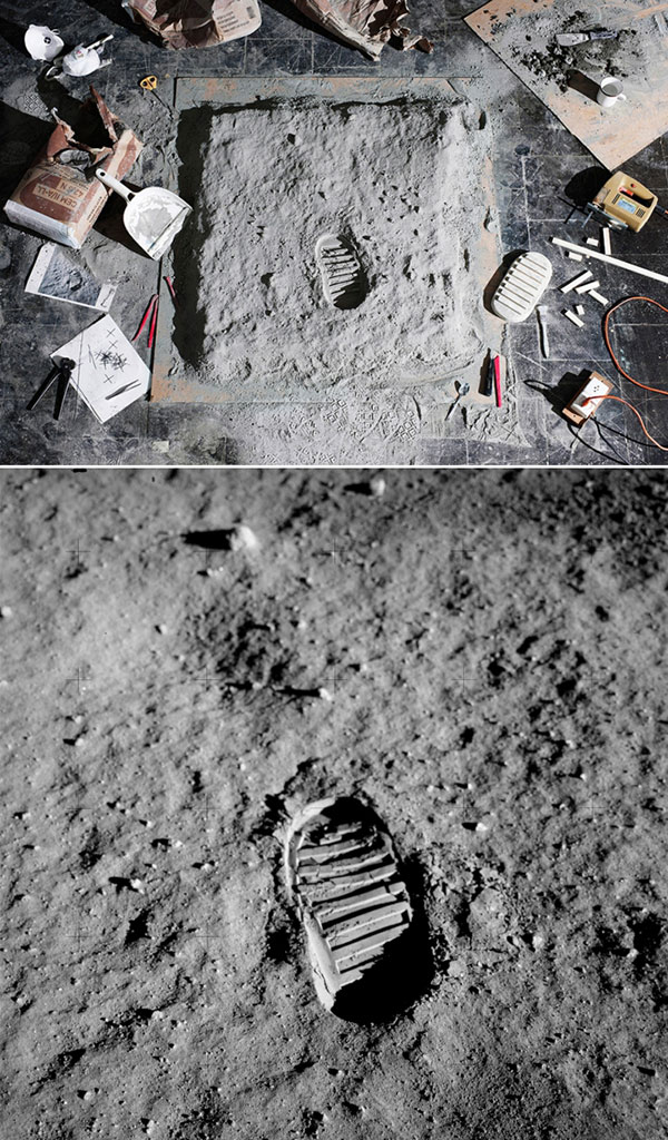Moon Footstep AS11-40-5878