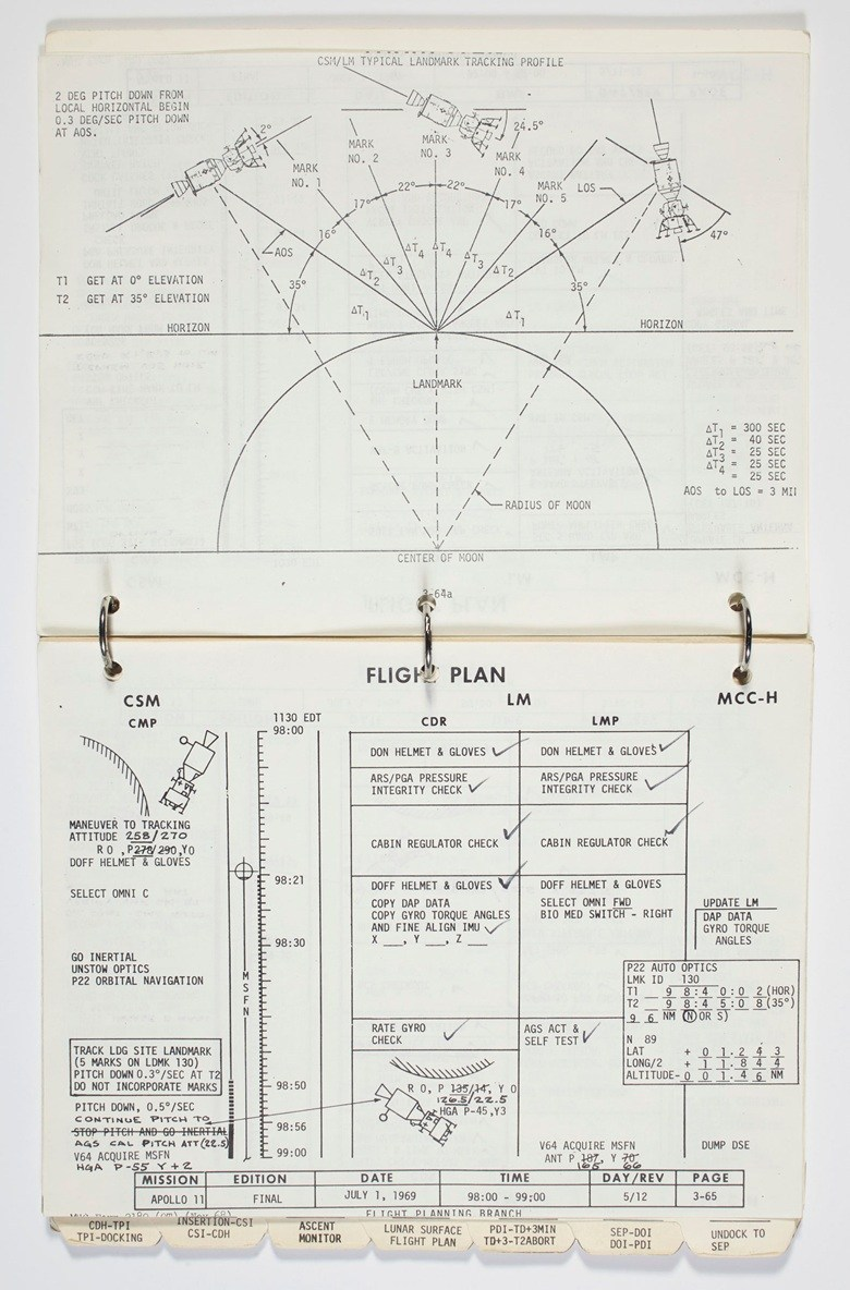 Moon Landing Manual Apollo 11